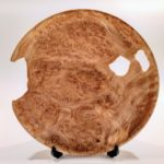 Thin Maple Burl Platter